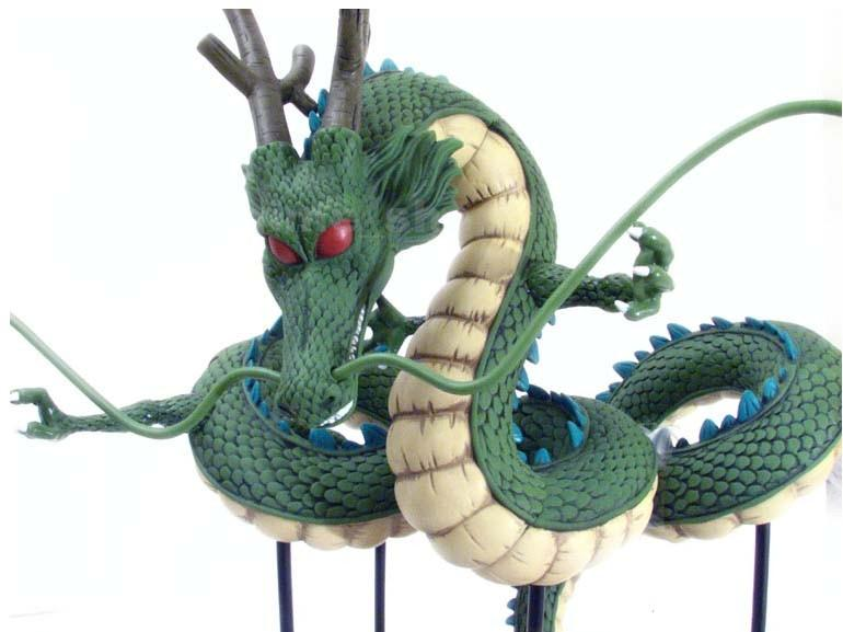 FIGURE DRAGONBALL Z 8CM SON GOKU DRAGO SHENRON TAO BAI BAI JUNIOR DRAGON BALL #1